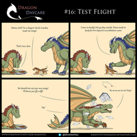 Dragon Daycare #16: Test Flight by RimentusTheDragon