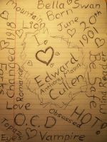 My edward cullen doodle page by Twillight-lover