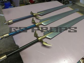 Claymore Swords by GS-PROPS
