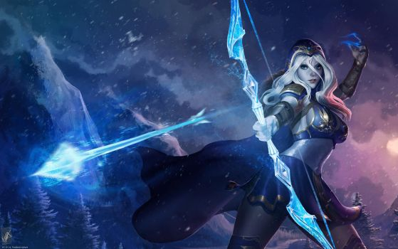 Ashe by TheMaestroNoob
