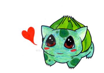Bulbasaur by Zlajda95