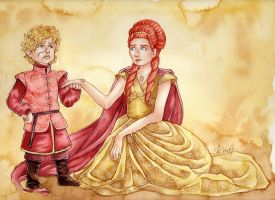 The lion and the little bird by lilifane