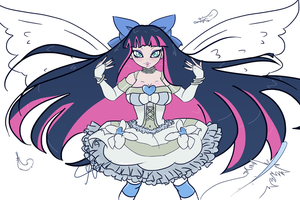 Stocking Anarchy- Angel Version by SweetAbril