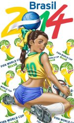 2014 World Cup Brazil Ronaldinha by borba