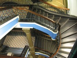 QVB Staircase Stock 2 by prudentia