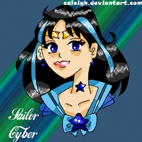 Sailor Cyber by caleigh