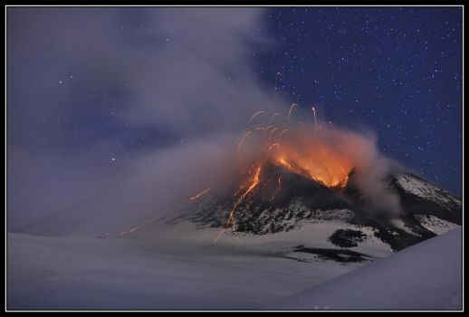 Fire of Etna by Boidot