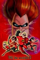 The Incredibles Poster by CamT