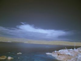 Croatian Sea View Infrared by ThePraiodanish
