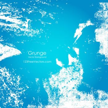 Free Blue Grunge Background Free Vector by 123freevectors