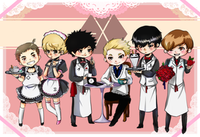 Maid Exo by MidnightZone
