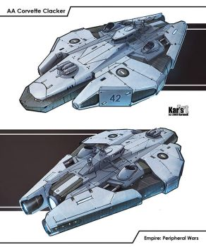 AA Corvette Clacker by KaranaK
