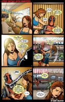 Speed Dating with Deadpool by ScarletVulture