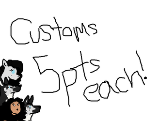 Customs open :3 ON HOLD by steelelover132