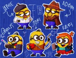 Minion Busters by zeranote17