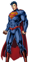 Superman (new 52) by: Jim Lee by SUPERMAN3D
