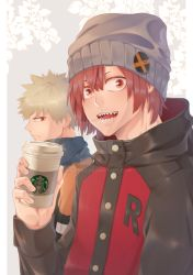 Kirishima hang out with his bestfriend by KaiTeng