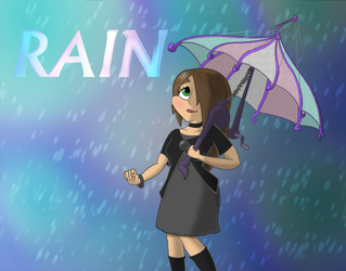 Rain fanart by Extermanet