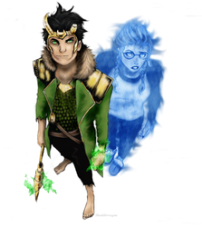 Loki and Verity AoA: Vo. 17 by l-Shader-l