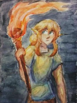 the light that burns down hyrule by GraphiteNotes