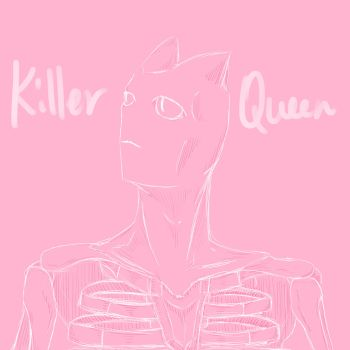 { JJBA } Killer Queen by LouLouBirb