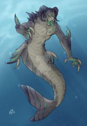 Mermay Deathclaw by Shrug-Viper