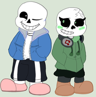 Everybody loves Sans by WhatTheFlup
