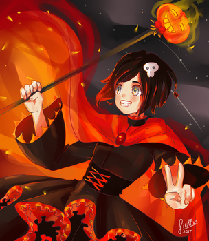 Ruby Rose   Halloween Contest by Sicillius