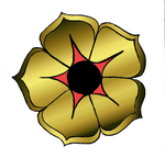 Coat of Arms Element: Rose by Ariyenne