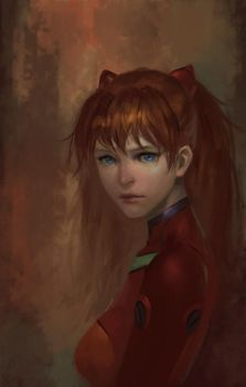 Study-Asuka by Midfinger