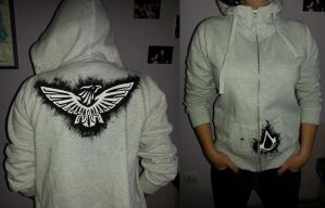 Improvised Assassin's Creed hoodie by Triumpha