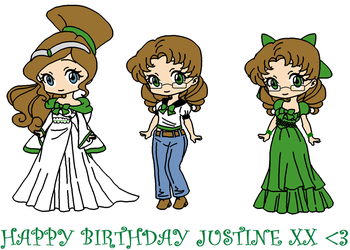 Happy Birthday Justine 2018 by roseprincessmitia