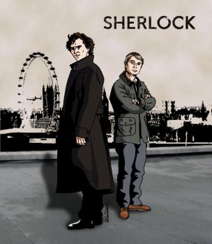 Sherlock by deanfenechanimations