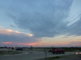 Assateague Sky July 1 by usedbooks