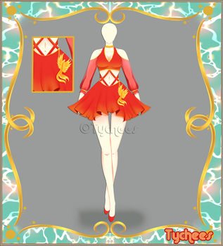 Outfit Adoptable (Auction) #27 CLOSE!!! by Tychees