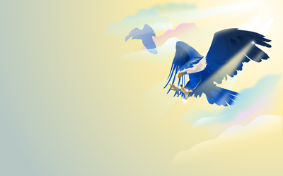 Gaia - Eagle Swoop by Golden-Ribbon