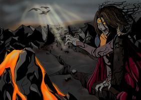 Fall Of Sauron by Centawen