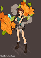 Tomb Raider by Mymie-chan