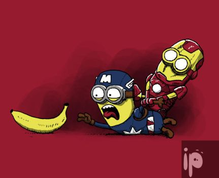 Banana war by inmaxpictures