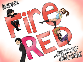 FireRed Nuzlocke cover by MeowMix72