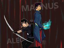 Alec and Magnus: Alliance by yishn