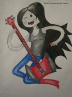 Marceline the Vampire Queen by Thaltha