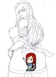 Erza at your service by kyrios375