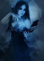 Blue Moon by woodland-lullaby