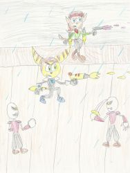 Battling Space Pirates by mastergamer20