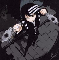 Soul Eater - Death the Kid Commission by ffSade