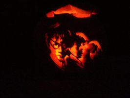 my carving skillz :D 2010 by perfctDISASTERx