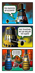 Dalek Election by curtsibling