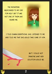 JustTale: The broken angel. Page 2 by MuskyCat90