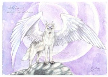 Star Wolf by m-lupus